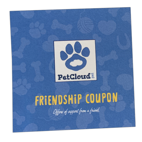 Friendship Coupon - Front