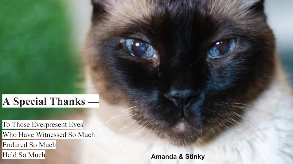 Sunday - 20210926 - A Special Thanks - Amanda & Stinky